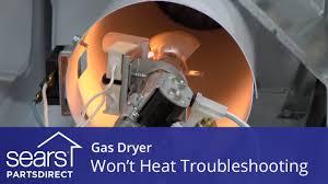 dryer won u0027t heat troubleshooting gas dryer problems youtube