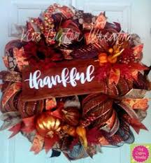 thanksgiving mesh wreath thanksgiving turkey welcome wreath