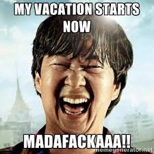 Meme Vacation - i m on vacation pina coladas island hopping off the grid