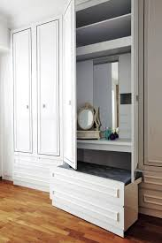 how to squeeze a dresser or vanity table into your bedroom home