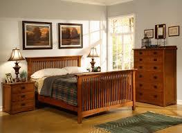 mission style bedroom set home furniture store american craftsman slatted bedroom set broyhill
