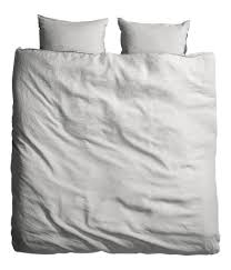 Chambray Duvet Cover Queen News From H U0026m How To Create The Look Linen Duvet Duvet And Linens