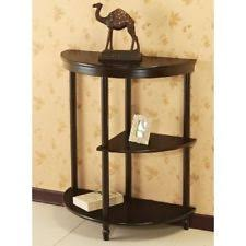 Half Moon Side Table Half Moon Accent Table Ebay