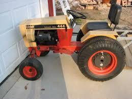 case 444 lawn u0026 garden tractor