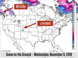 Us And Canada Map by Next Week Will Be Snowier Than This Week Us And Canada Daily