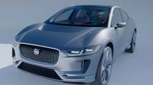 land rover electric jaguar land rover unveils its first electric car central itv news