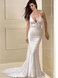 simple wedding dresses simple mermaid wedding dress bc279
