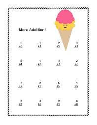 first grade math addition u0026 subtraction within 20 worksheets ice