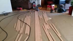from carpet to diagonal hardwood flooring part 4 wood floor