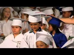 preschool caps and gowns preschoolers graduation complete with cap and gown 2012 06 22
