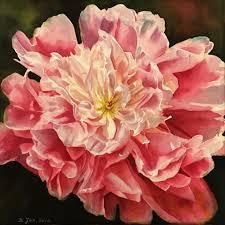 Diana Princess Of Wales Rose by Flowers Archives Doris Joa Watercolor U0026 Oil Paintings