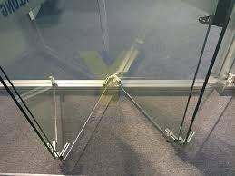frameless glass exterior doors interior bifold frameless glass door exterior aluminium double