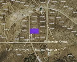 Colorado Unit Map by Instant Acres Parcels Tract 41 Vale Court Mountain View