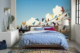 papier chambre adulte papier peint chambre adulte coloré migration izoa