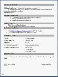 resume exle for resume for fresher 28 images resume exle for freshers bsc