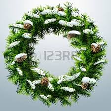 New Year S Day Decoration by Christmas Wreath Without Decoration Empty Wreath Of Pine Branches
