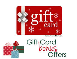 gift card offers gift card bonus offers 2014