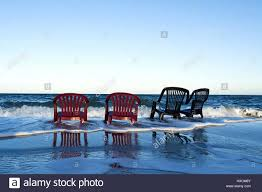 Chairs On A Beach Chairs On The Beach Stuehle Am Strand Stock Photo Royalty Free