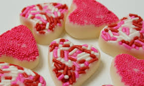 candy valentines easy white chocolate candy hearts