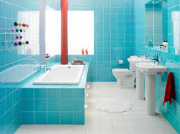 blue bathroom tiles design hirea