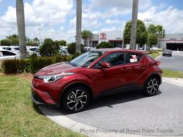 toyota new c hr 2018 new toyota c hr xle fwd at royal palm toyota serving