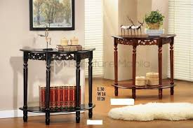 Half Moon Table Kf2100 Half Moon Console Table Home Office Furniture Philippines
