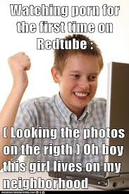 First Internet Meme - image 249038 first day on the internet kid know your meme
