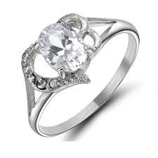 wedding rings what does 14k cz mean white gold cubic zirconia