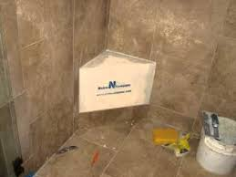 Schluter Corner Bench Adding A Noble Bench To An Existing Shower Youtube