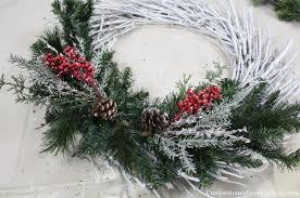 twig wreath diy christmas twig wreath confessions of a serial do it yourselfer