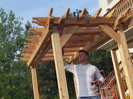 how to build a garden pergola how tos diy