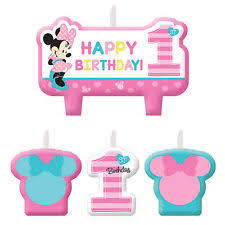 Cake Decorations For 1st Birthday Minnie Mouse Cake Decorations Ebay