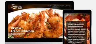 consulting cuisine franco s kitchen web design restaurant jvf consulting