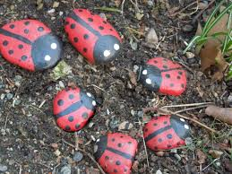 Painting Rocks For Garden Painted Rocks As An Easy Garden Decoration Lifemadehappy