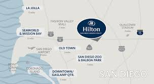 Naval Base San Diego Map by Hilton Mission Valley San Diego Hotel Hotels In Mission Valley