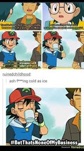 Pokemon Trainer Red Meme - ash ketchum kermit the frog style pokemon pinterest ash