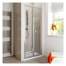 760mm bi fold shower enclosure u0026 760mm x 760mm tray