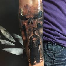 collection of 25 punisher tattoo
