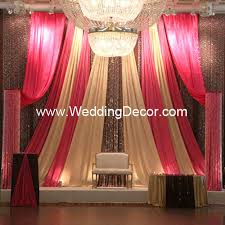 wedding backdrop gold wedding backdrop fuchsia brown gold a fuchsia brown flickr