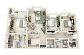Home Layout 50 Three U201c3 U201d Bedroom Apartment House Plans Architecture U0026 Design