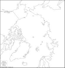 Blank Eurasia Map by Geographically 4 The Arctic