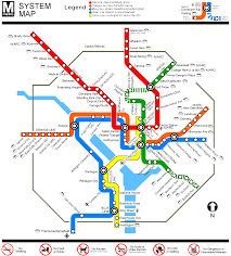 Metro Subway Map by Maryland Subway Map Travel Map Vacations Travelsfinders Com
