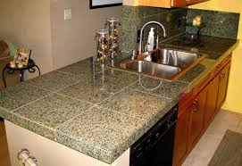 Kitchen Countertop Tile Kitchen Wall Color Ideas Modern Home Design