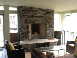 why you want an outdoor fireplace in your columbus screened porch