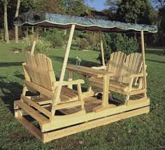 Log Outdoor Furniture by Rustic Natural Cedar Log Style Glider 0100016 Outdoor Seating