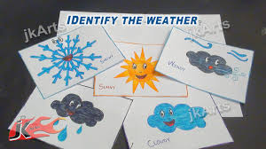 diy identify the weather game learning game for kids jk easy