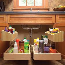 kitchen sink cabinet caddy kitchen cabinet storage solutions diy pull out shelves