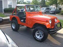 jeep burnt orange my 74 cj5 in new paint nc4x4
