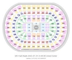 united center floor plan chicago united center seat numbers