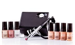 best professional airbrush makeup system up to 48 on luminess airbrush kit groupon goods